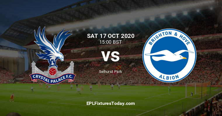 Crystal Palace Vs Brighton You Are On Page Where You Can Compare Teams Crystal Palace Vs Brighton Before Start The Match