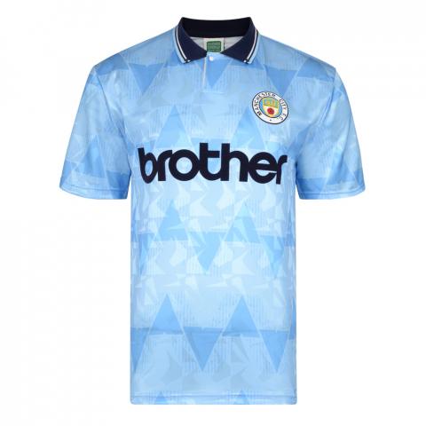 Manchester City 1989 Retro Football Shirt