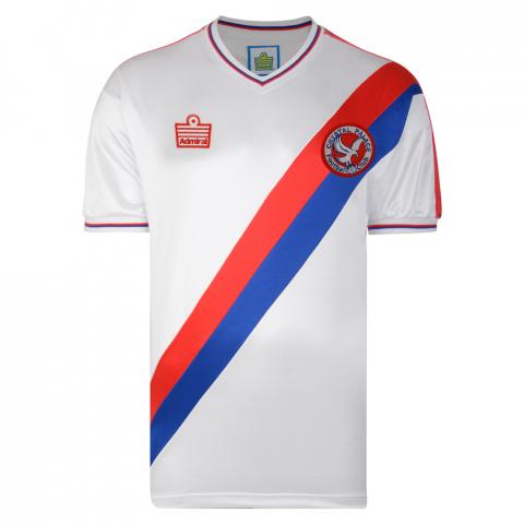 Crystal Palace 1978 Admiral Retro Football Shirt